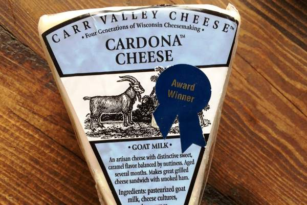 Cardona Goat Cheese by Carr Valley