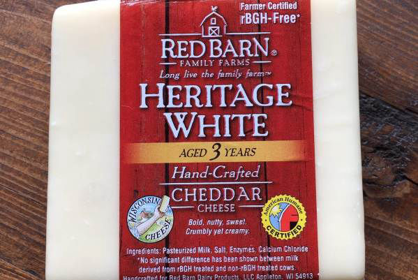 Red Barn Heratage White Cheddar Cheese